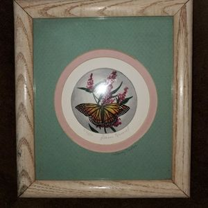 Dianne Krumel Butterfly Signed & Numbered